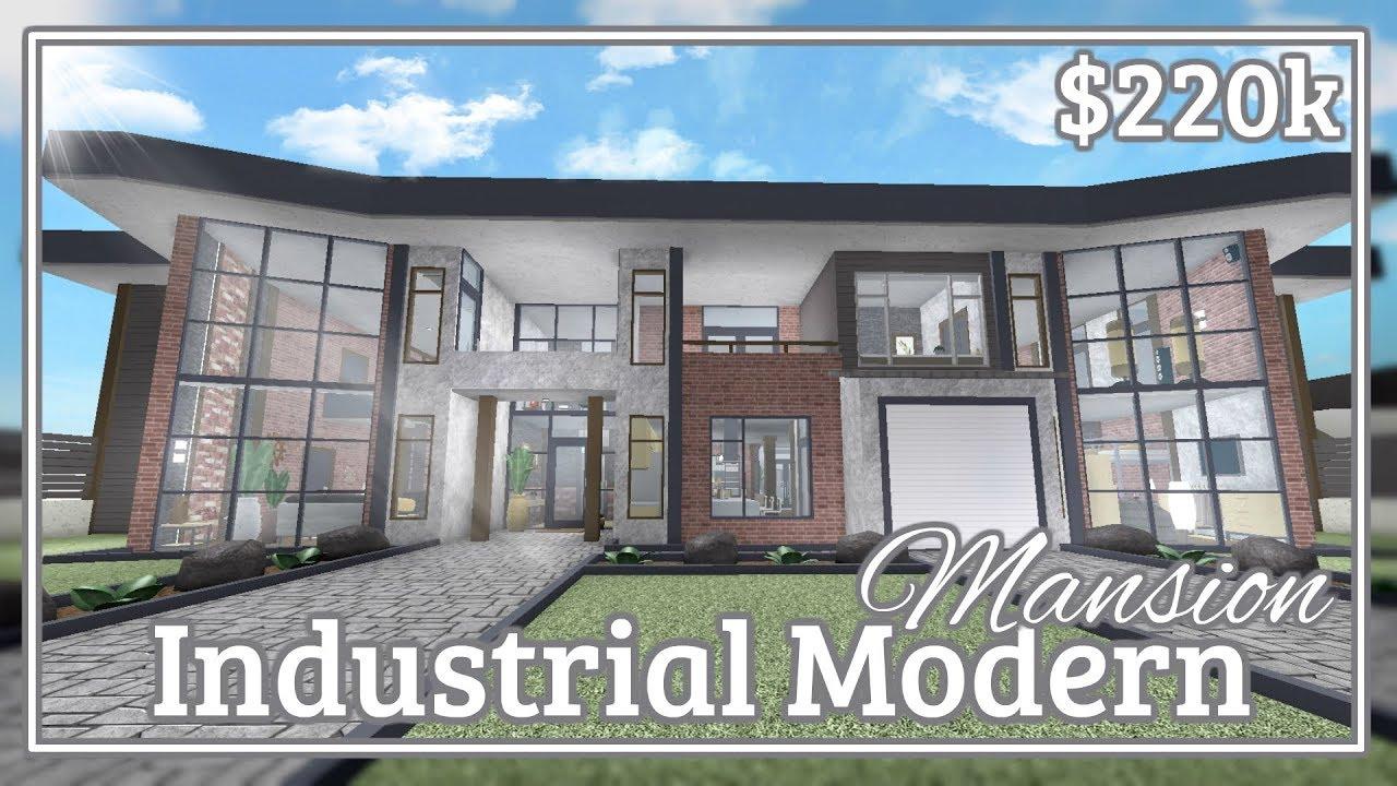 Industrial Modern Mansion Speed-build