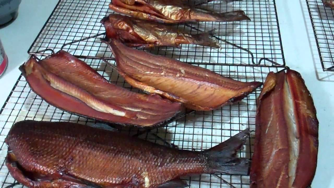 I am smoking whitefish northern pike and rainbow trout for Smoking fish in a smoker