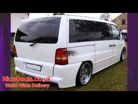 mercedes vito body kits, bumpers, side skirts, spoilers - youtube