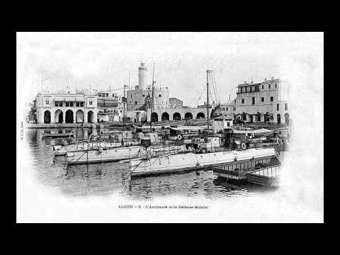Alger la blanche 500 photos très rares   Algiers the white city El bahdja