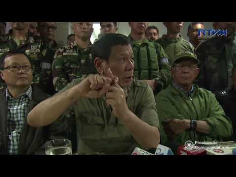 Media Interview - Marawi City 9/21/2017