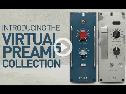 Slate Digital VIRTUAL PREAMP COLLECTION - Real Analog Preamp Tones For Your Mixes!