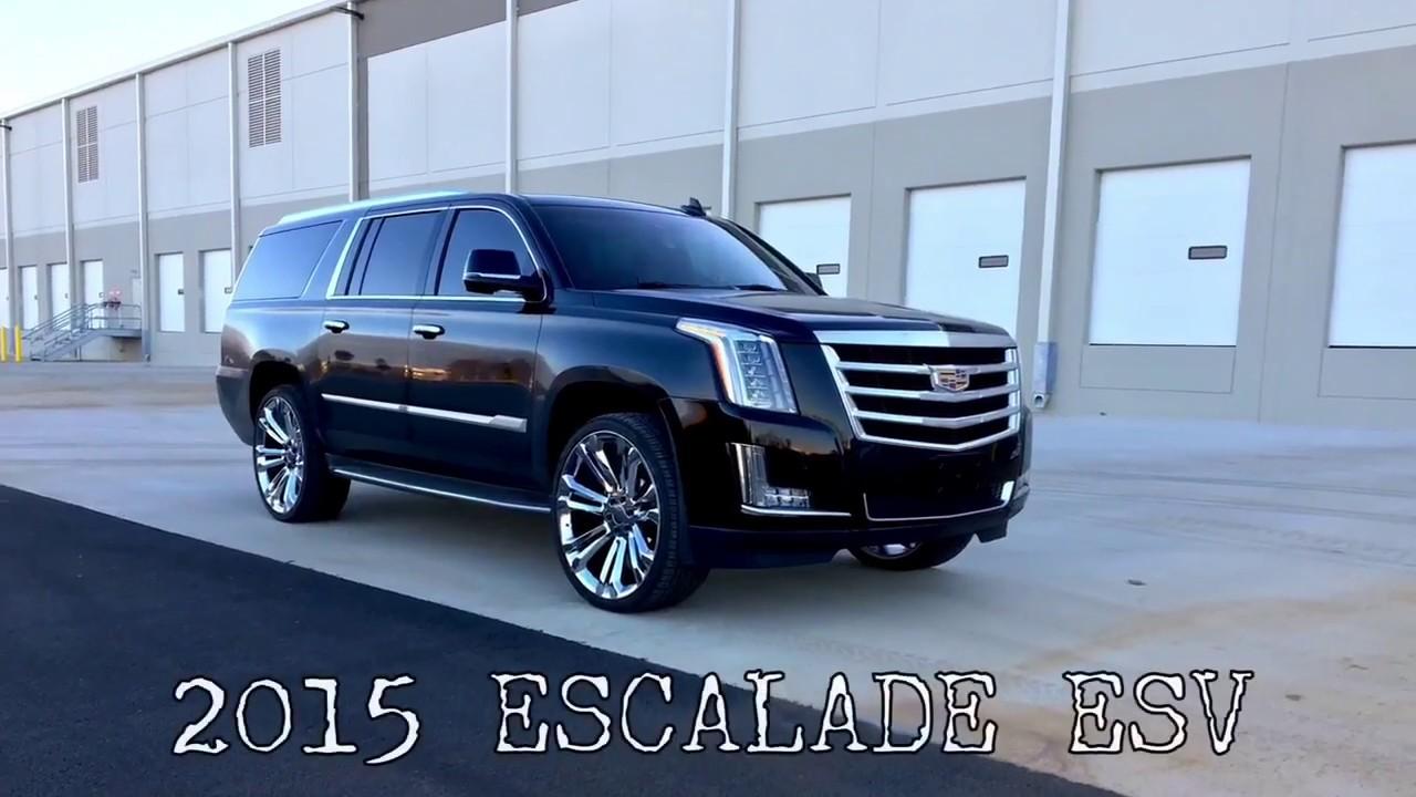 2015 Escalade ESV 26 inch OE Replica wheels - YouTube