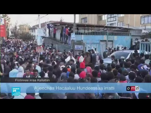 إثيوبيا..سقوط عشرات الضحايا خلال احتجاجات وأعمال عنف عرقية على خلفية مقتل مغن شهير  - نشر قبل 2 ساعة