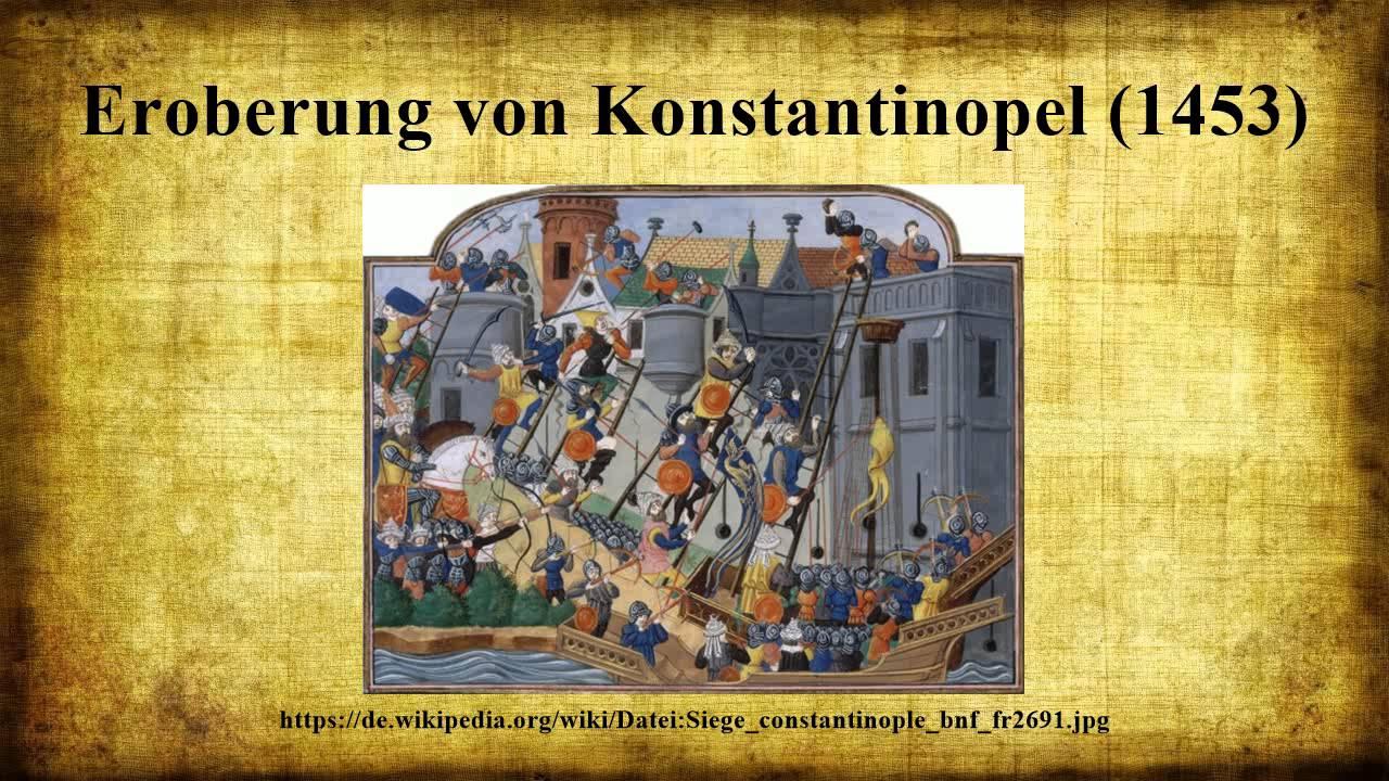 Konstantinopel Eroberung