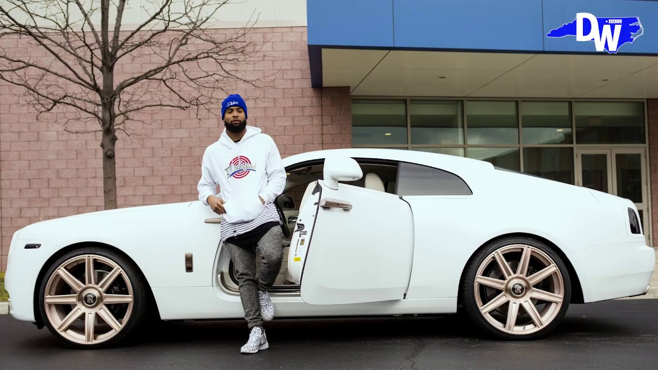 Odell Beckham Jr | Custom Rolls Royce Wraith | Exclusive ...