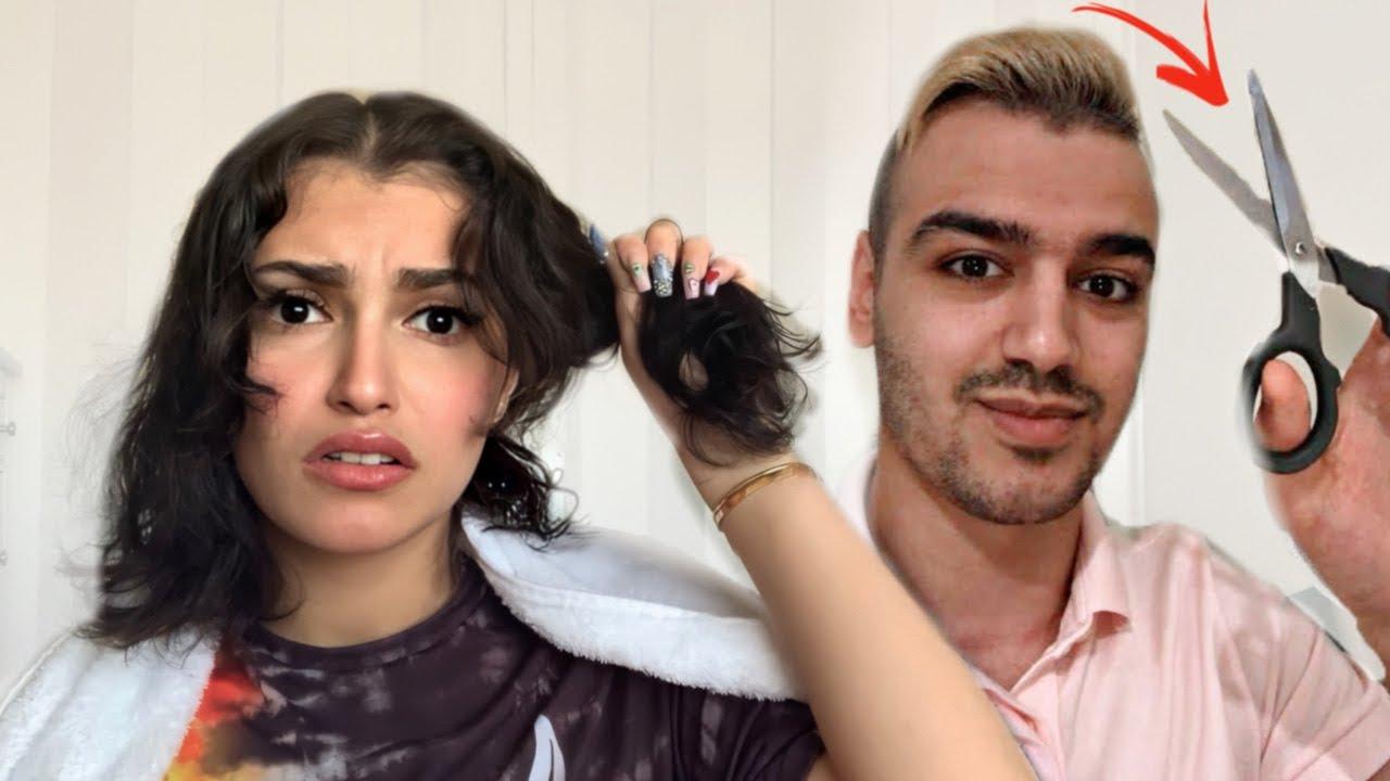 شيرو قرر يقص شعري بسبب التحدي??