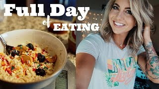 FULL DAY OF EATING - Rest Day/Active Recovery Day Macros