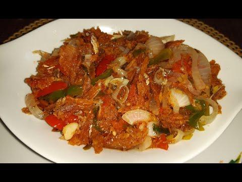 Debbie's Brown Stew Saltfish