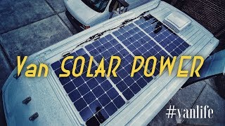 #vanlife SOLAR POWER setup and why? (Serious Charging needs)