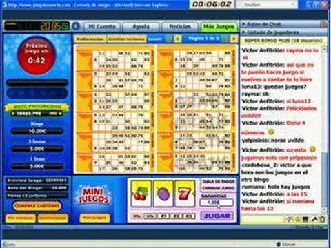 Jugar Bingo En Linea