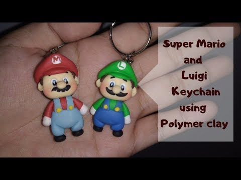 How To Make Keychain Using Polymer Clay