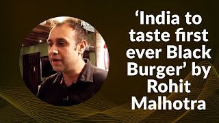 India to taste first ever Black Burger