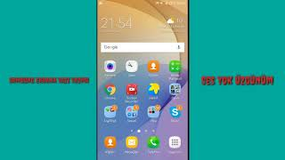 Samsung Kilit Ekranı Yazı Yazma☡