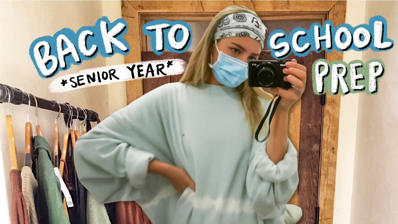 prepping for back to school 2020 *SENIOR YEAR* (working out, studying, shopping & more)