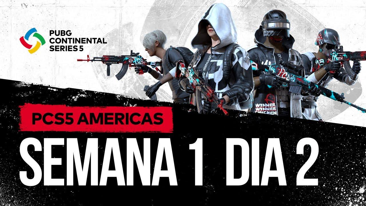 PCS5 Américas Grande Final - Semana 1 Dia 2