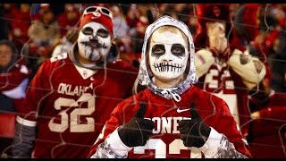 Ohio State Buckeyes - Oklahoma Sooners Fans, Atmosphere