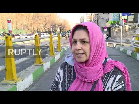 Iran: Tehran residents react as government admits Ukrainian plane was shot down