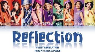 Girls' Generation (少女時代) – Reflection Lyrics (KAN/ROM/ENG)