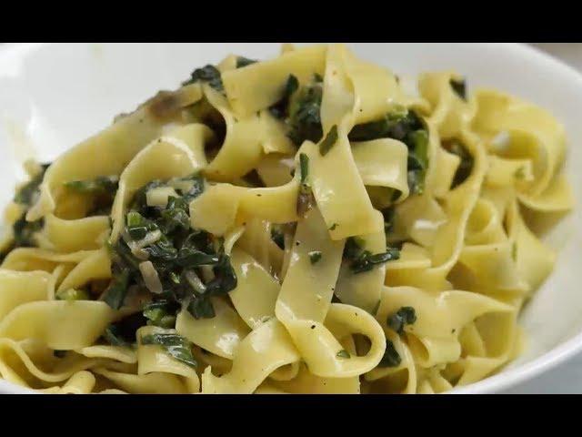 Sütlü Ispanaklı Fettucine Tarifi, Nasıl Yapılır