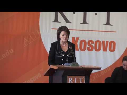 Forum with the Former President of the Republic of Kosovo, Ms. Atifete Jahjaga