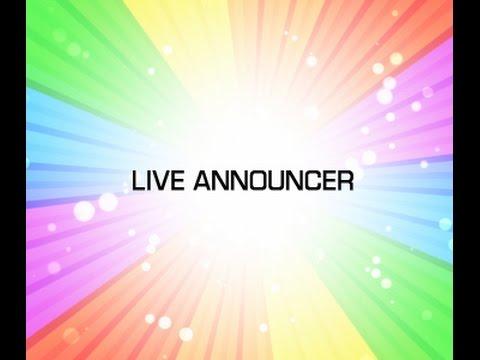 Lex Lang Voice Over Demo  Live Announcer