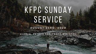 KFPC Ministry Live-Stream 08.23.20