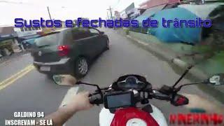 SUSTO DE MOTO/QUASE QUEDA- K4DUzIM_YT