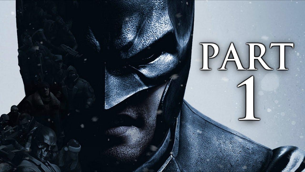 Batman Arkham Origins Gameplay Walkthrough Part 1 Black