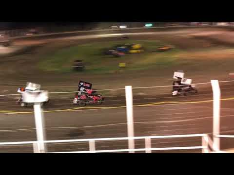 Trey Burke Racing - Airport Raceway, A Class Micro Feature 2nd Place Finish