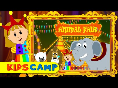 The Animal Fair | Nursery Rhymes | Popular Nursery Rhymes by KidsCamp