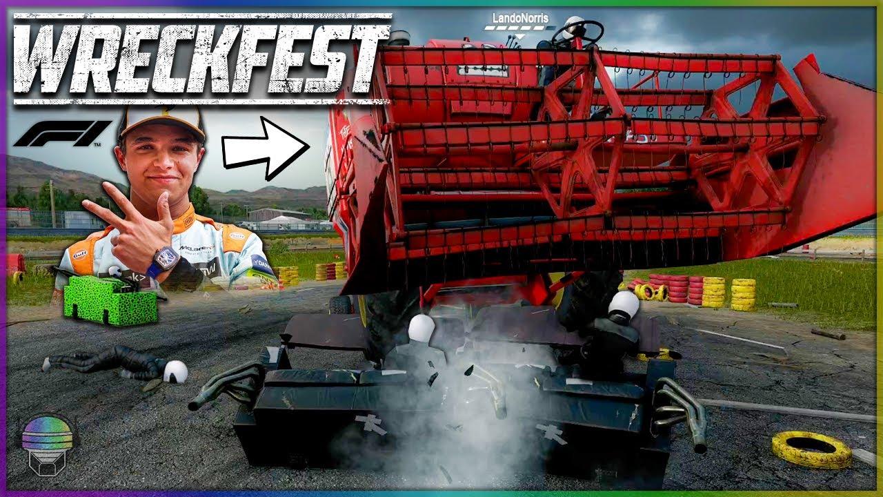 DESTROYED BY LANDO NORRIS! | Wreckfest