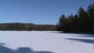 20120220 - Meech Lake 18km Skate Ski -6C Sunny  25.MPG