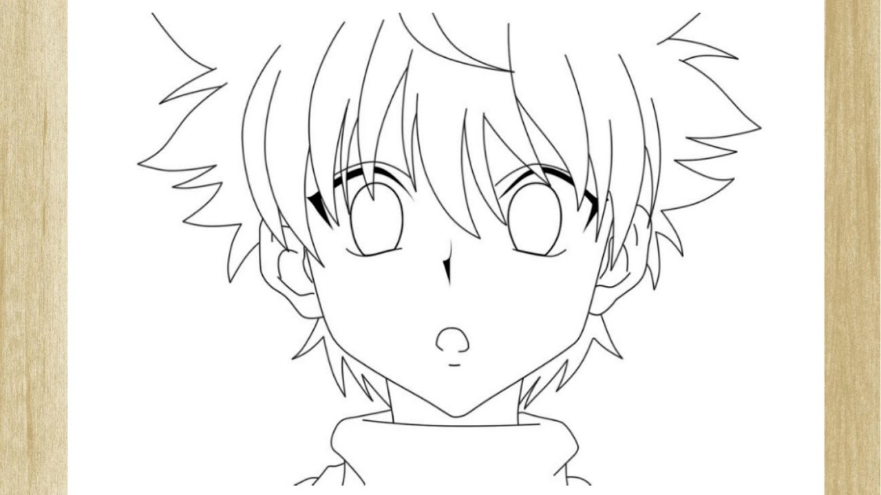 Como Desenhar O Killua De Hunter X Hunter How To Draw Killua