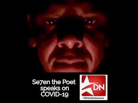 Se7en the Poet releases Defender COVID-19 message