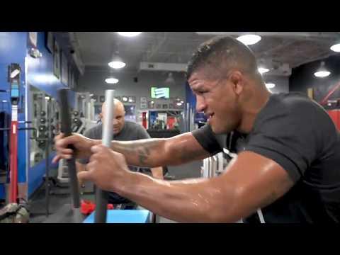 "Gilbert ""Durinho"" Burns last workout at IHP before Damian Maia Fight at UFC Brasilia"