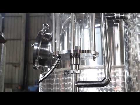 1200L Gin Distillery/alcohol Distillation Column Equipment For Sale
