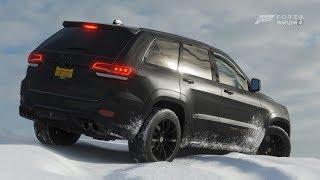 Forza Horizon 4 | 2018 JEEP TRACKHAWK SRT | Winter Off Road Test Drive