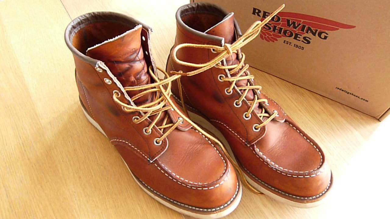 RED WING SHOES - Sizing,Breaking In&Alternate Lacing(875,8131,1907 ...