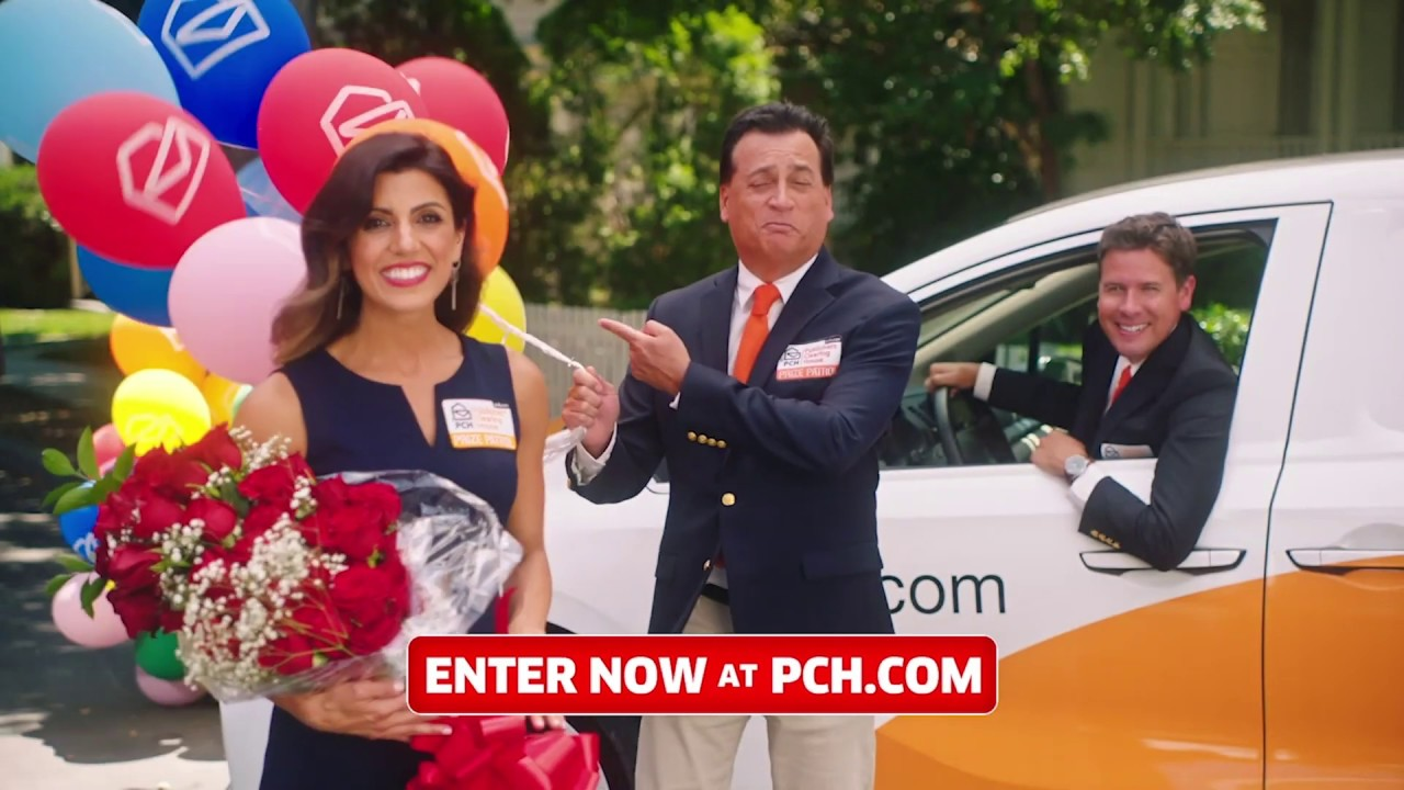 PCH $5,000 a Week for Life Sweeps with Steve Harvey & the Prize Patrol