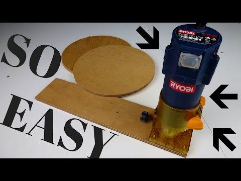 Circle Cutting Jig
