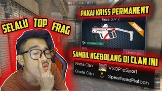 NGEBOLANG CLAN LAIN PAKE KRISS PERMANENT?! AUTO GUA GENDONG 1 CLAN!! Point Blank Zepetto Indonesia