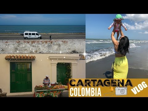 TRAVELING VLOG //CARTAGENA COLOMBIA //FAMILY VACATION