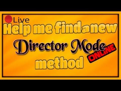 *LIVE* GTA Online | Help Me Find a New Director Mode Online Glitch