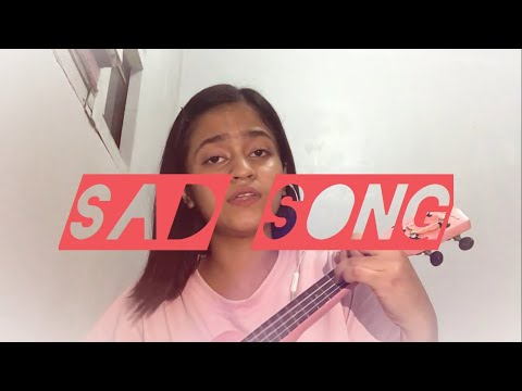 Sad Song By We The Kings | Song Cover By Vashti