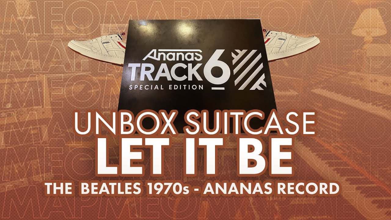 Ananas Track 6 Special Editor Unboxing