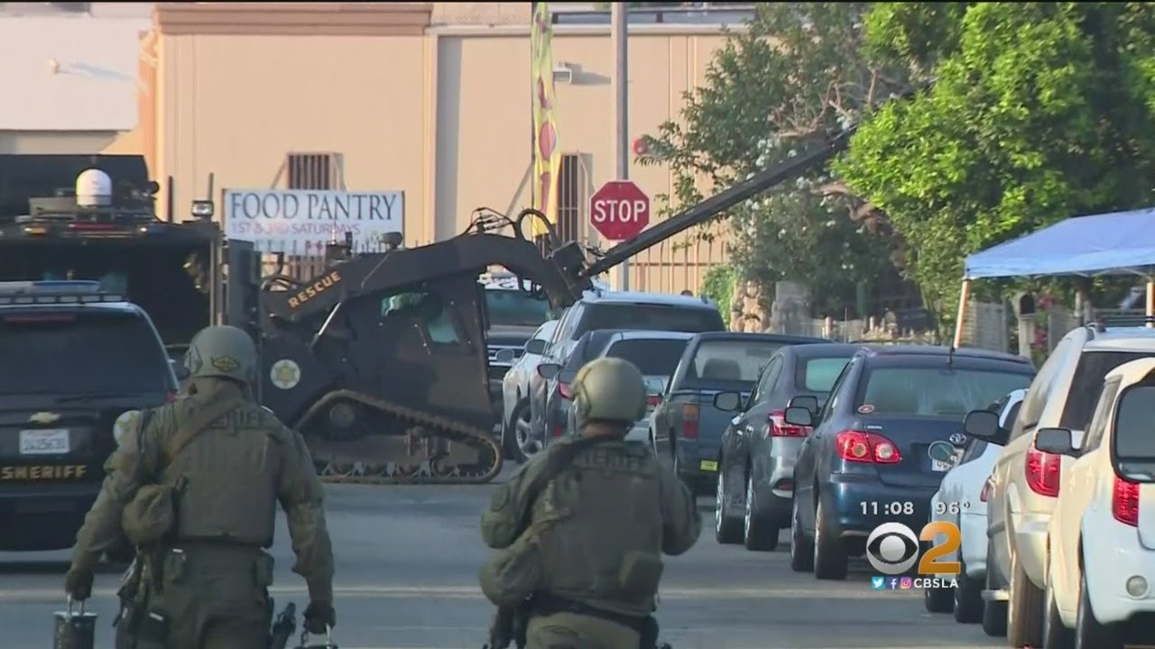 White Male Shooter On The Run After Early Morning Standoff