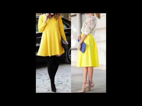 Outfits de moda con amarillo