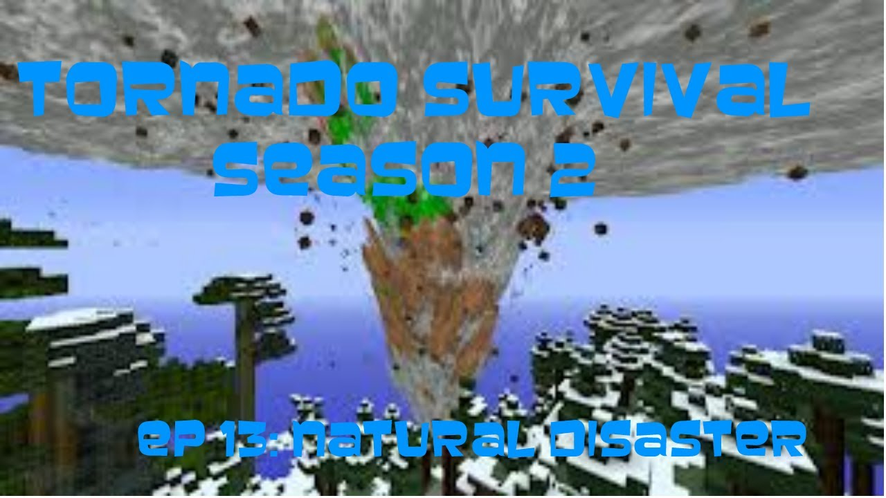 Natural Disasters Mod For Minecraft