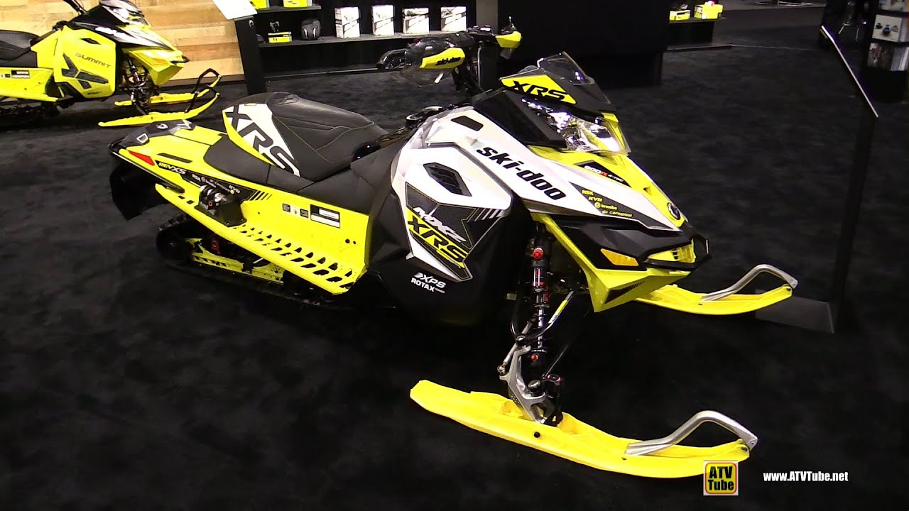 2016 ski doo mxz xrs 800r e tec sled walkaround 2015
